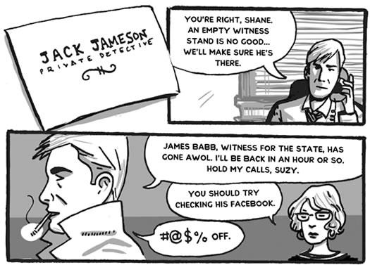 capital comics collective private detective