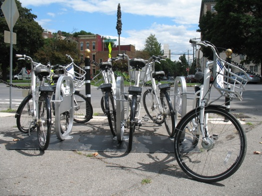 capital region bike share bikes