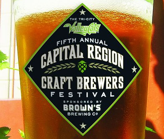 capital region craft brewers festival 2014 logo