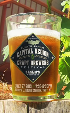 capital region craft brewers festival logo 2013