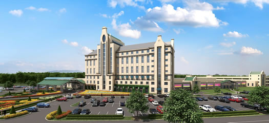 capital view east greenbush casino rendering