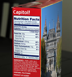 capitol nutrition facts small