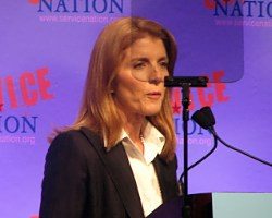 Caroline Kennedy speaking
