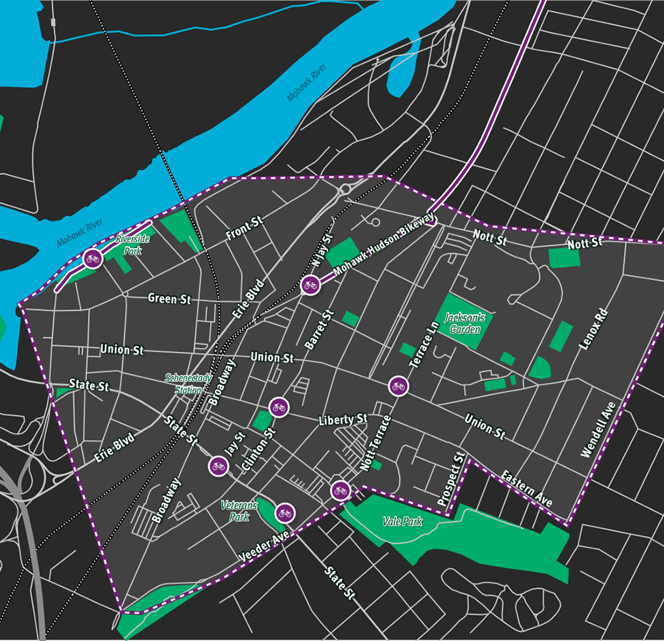 cdta_bike_share_locations_2017_Schenectady.png