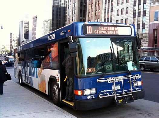 cdta bus downtown albany