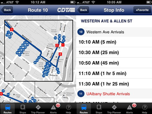 cdta iride mobile app 2 screenshots