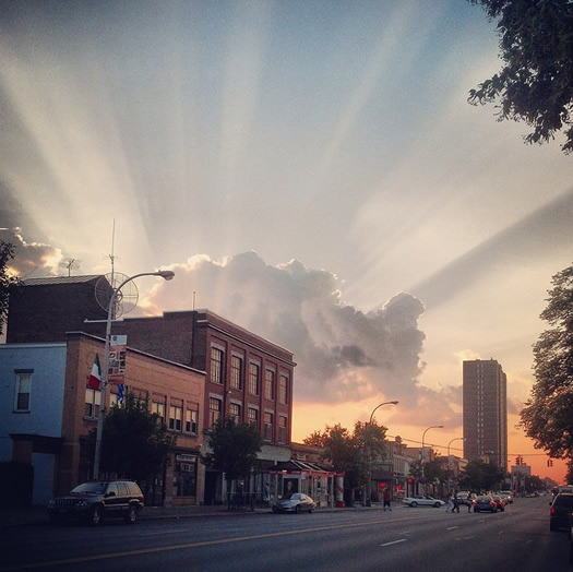 central ave sunset 2013-06-16 iessi