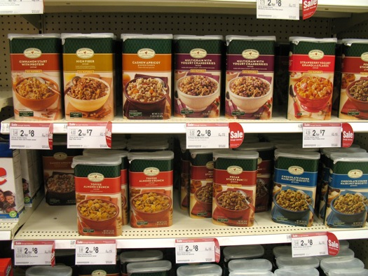 cereal at Target. The food section at Target   All Over Albany