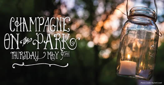 champagne on the park 2013 logo