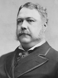 chester a arthur portrait