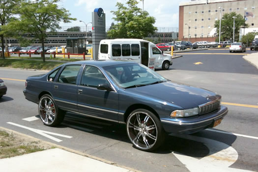 chevy caprice big rims
