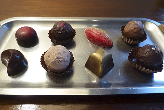 chocolate mill bonbon truffle assortment
