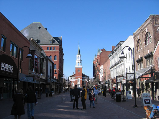 church street burlington, vermont
