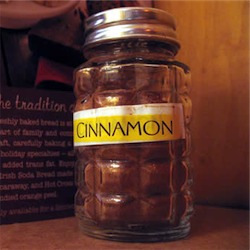 cinnamon shaker