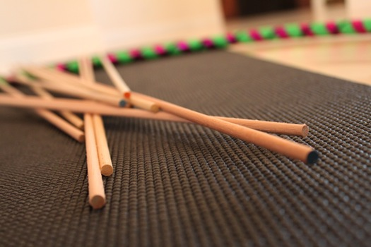 circus yoga push sticks