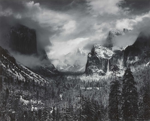 clearing winter storm ansel adams