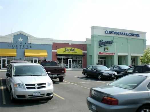 clifton park center exterior