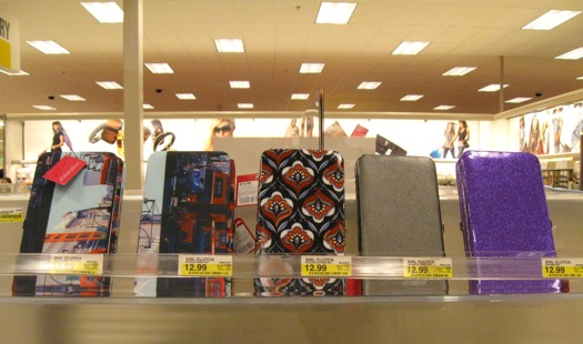 cool clutches at Target