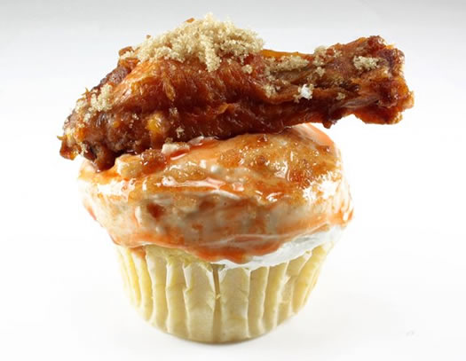 coccadotts chicken wing cupcake