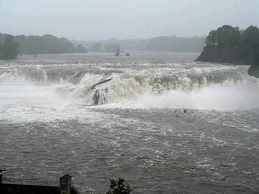 cohoes falls 2011-08-28 hurricane irene