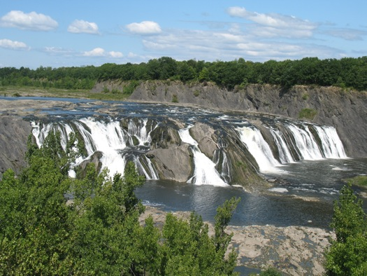 Cohoes Falls from Falls View Park