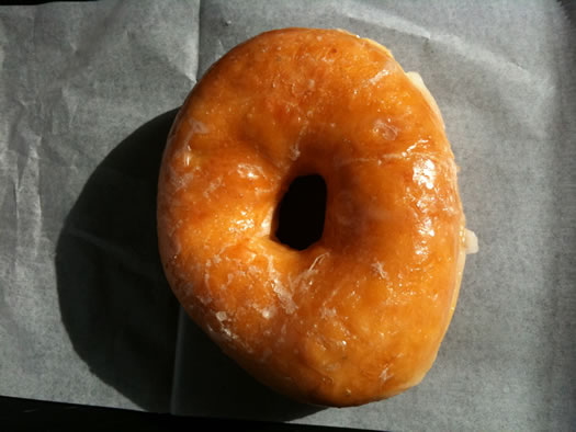 cookie factory troy glazed donut