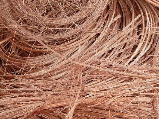 a bunch of copper wire