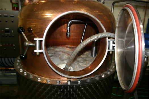 a still making CORE Vodka
