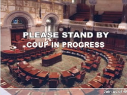 coup in progress