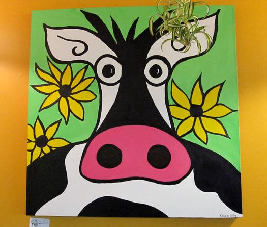 cow paining Karin Kuck