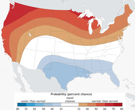 cpc winter temperature outlook 2015-2016