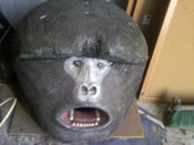 craigslist carved gorilla head