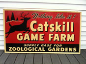 craigslist catskill game farm sign