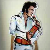 craigslist item elvis cutout