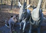 craigslist fiberglass zebra elephant