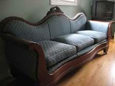 craigslist victorian couch