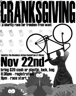 cranksgiving poster