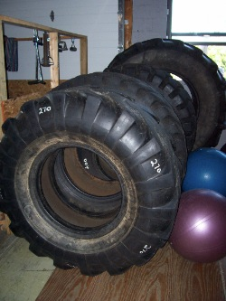 Cutting Edge Sports Science training tires