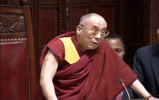 dalai lama nys senate