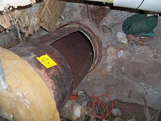 dannemora prison escape pipe