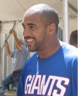 David Tyree smiling