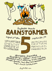 daytrotter barnstormer poster ghent