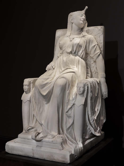 death of cleopatra by edmonia lewis