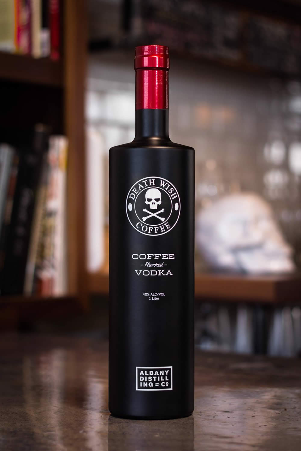 Death Wish Coffee Vodka All Over Albany