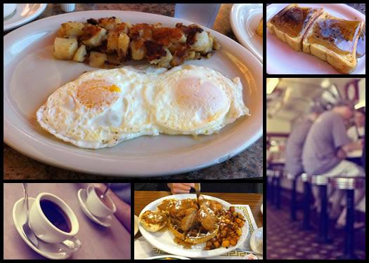 diner breakfast composite