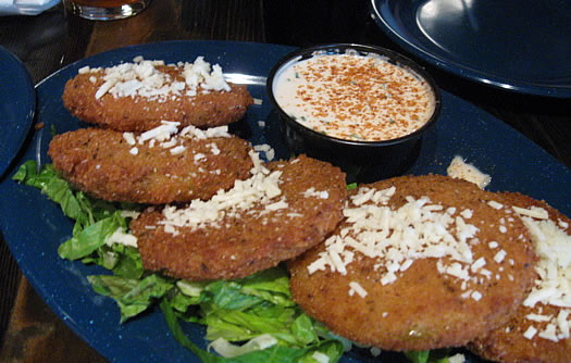 dinosaur fried green tomatoes