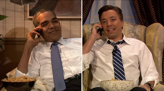dion flynn jimmy fallon obama romney