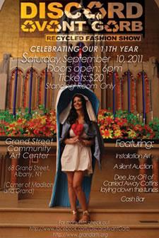 discard avant garb 2011 poster
