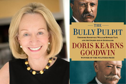 doris kearns goodwin bully pulpit