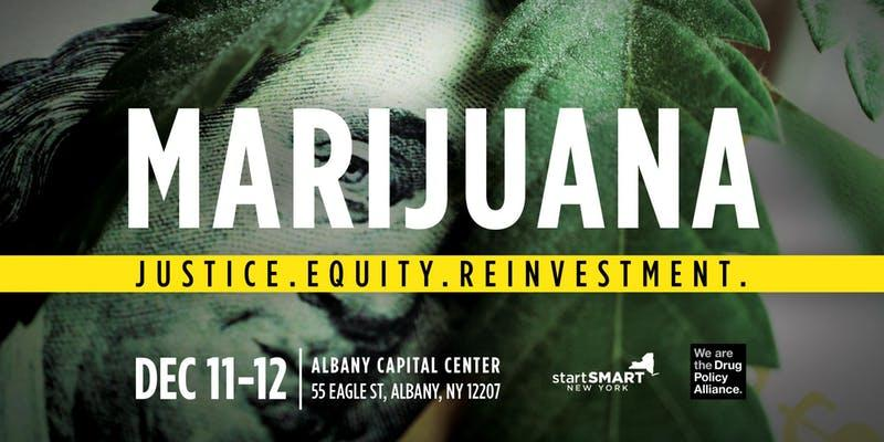 drug policy alliance marijuana conference Albany Capital Center logo